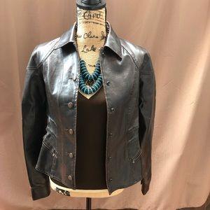 No Boundaries Faux Leather Jacket
